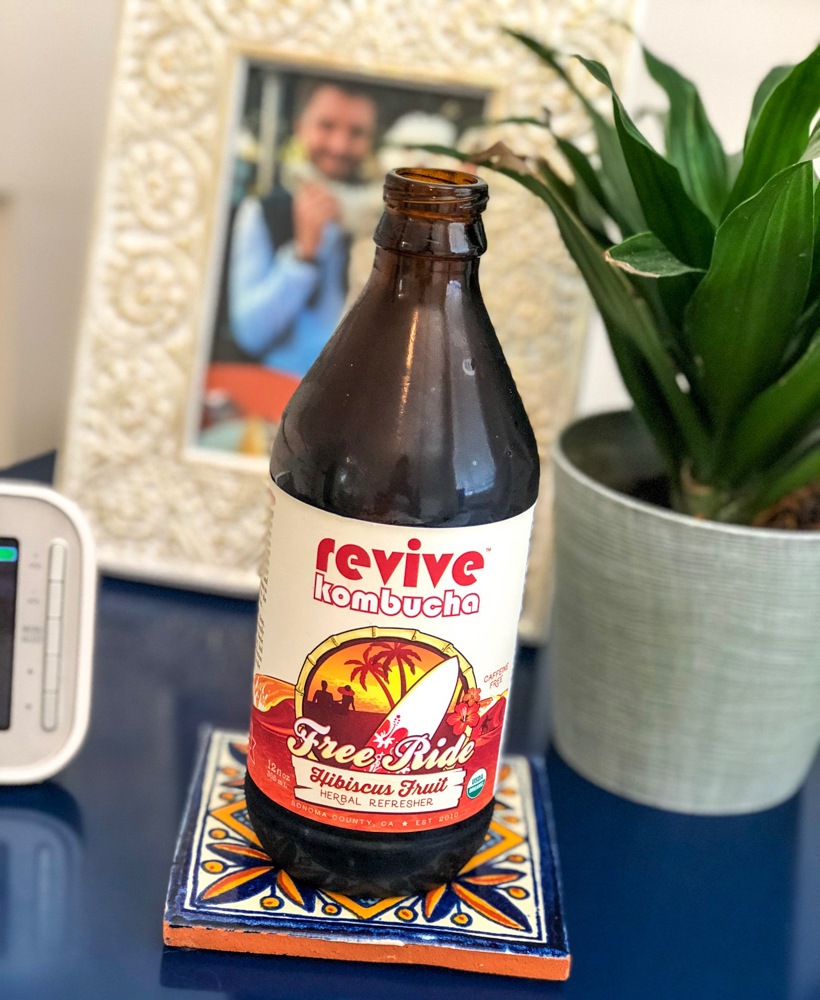 Revive kombucha by A Lady Goes West