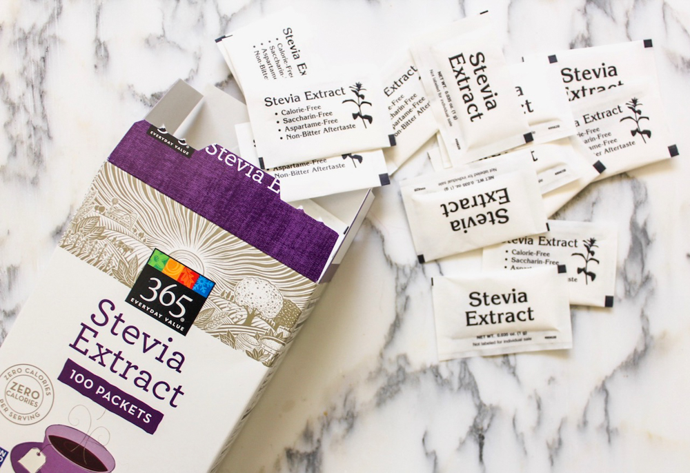 Stevia packets easy and healthy grocery swaps from Whole Foods Market 365 by A Lady Goes West