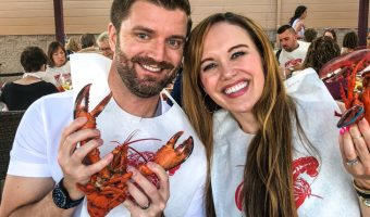 Lobster bake fun, office visits, food and weekly workouts