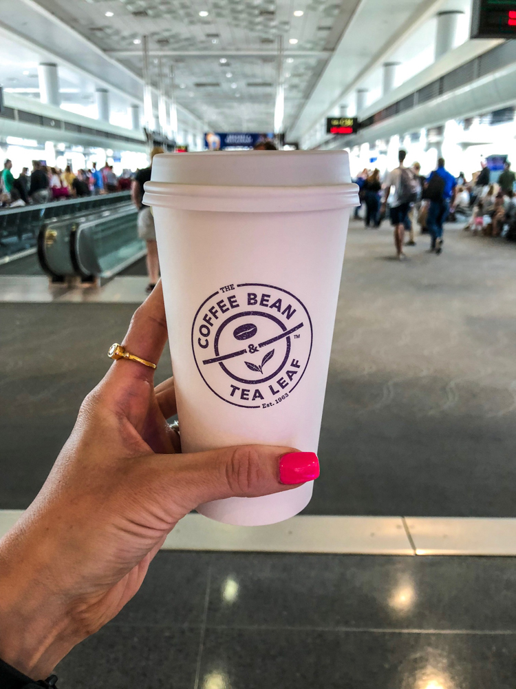 Coffee Bean matcha latte by A Lady Goes West