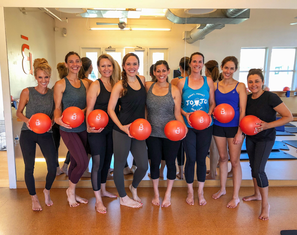 Ladies at Barre3 Danville by A Lady Goes West