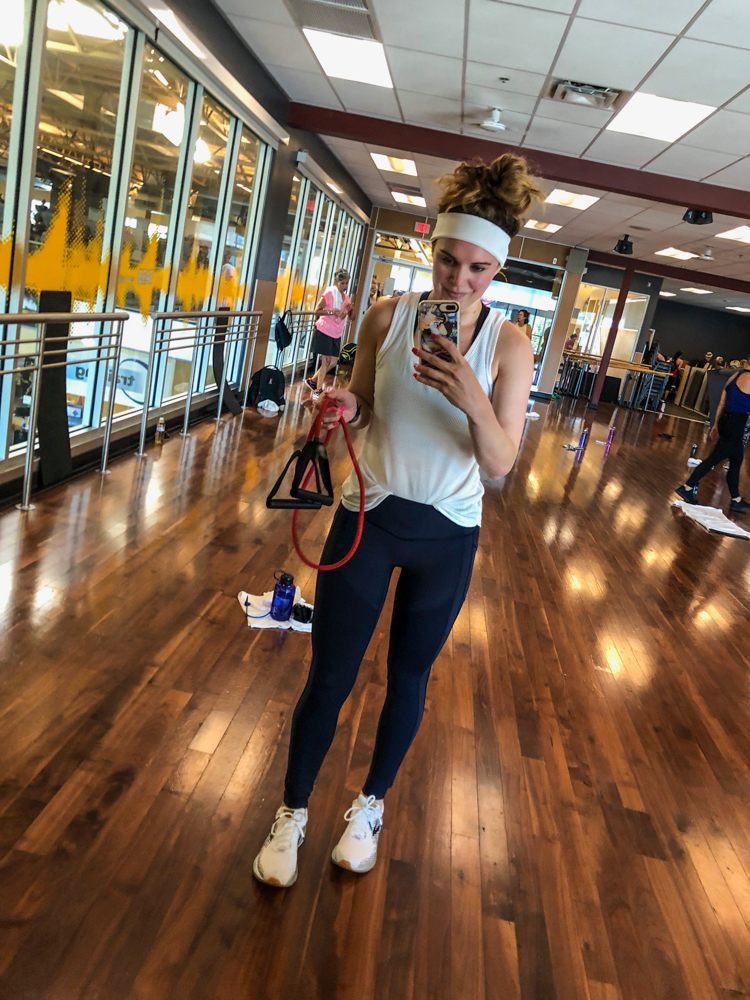 Post-BODYATTACK pic of Ashley by A Lady Goes West
