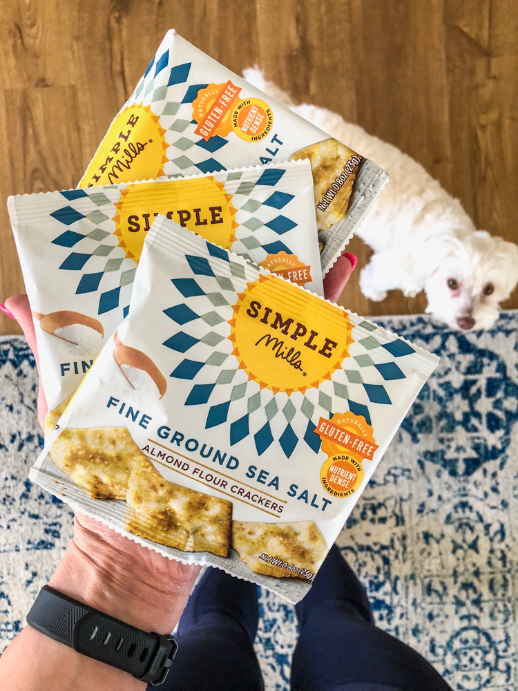 Simple Mills crackers fave by A Lady Goes West
