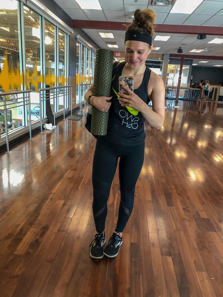 Ashley after BODYPUMP -- latest favorites by A Lady Goes West
