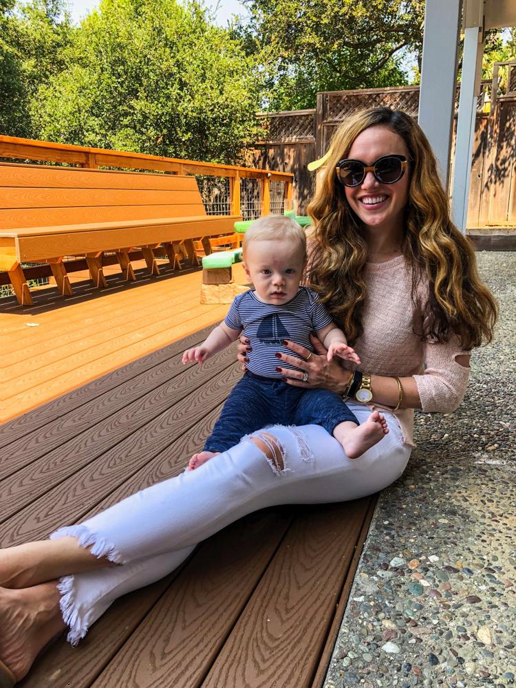 Ashley and Brady in Santa Cruz by A Lady Goes West