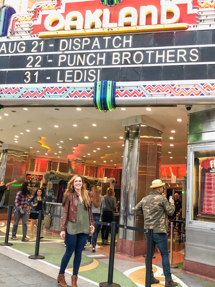 Dispatch concert at the Fox in Oakland -- latest favorites by A Lady Goes West