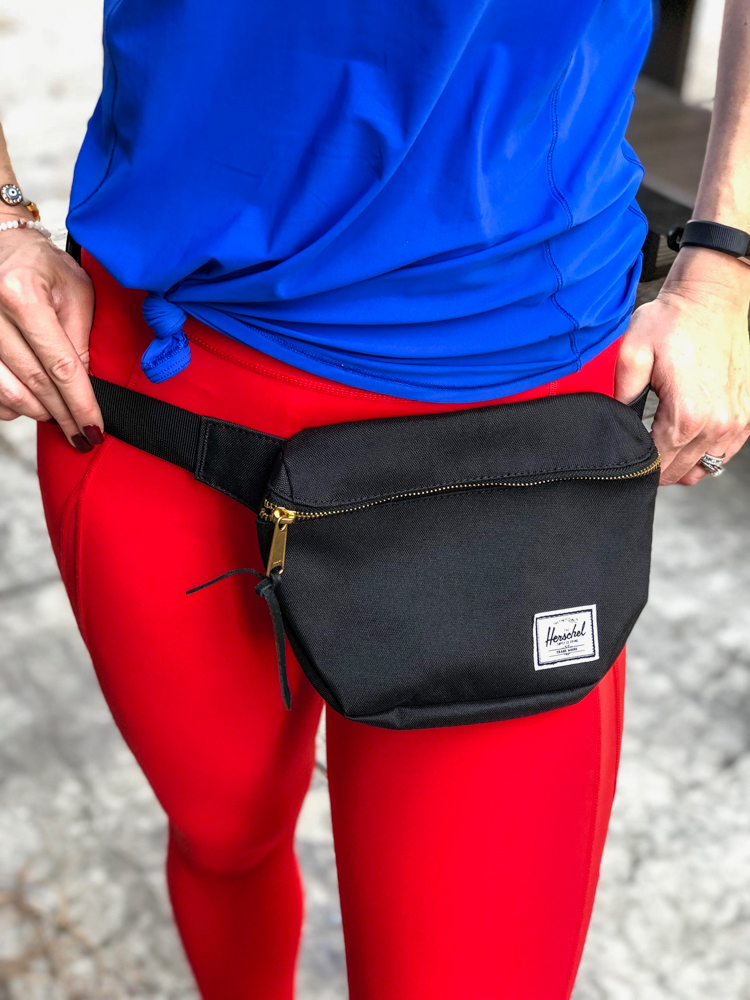 New Herschel fanny pack by A Lady Goes West