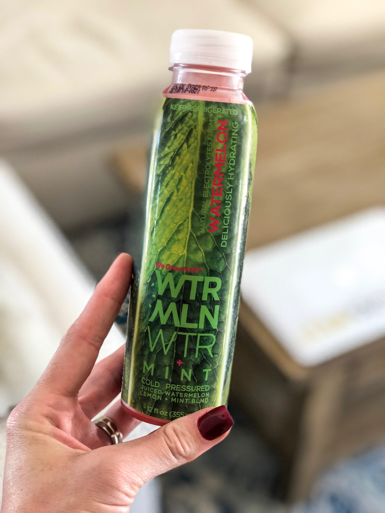 Watermelon water August 2018 by A Lady Goes West