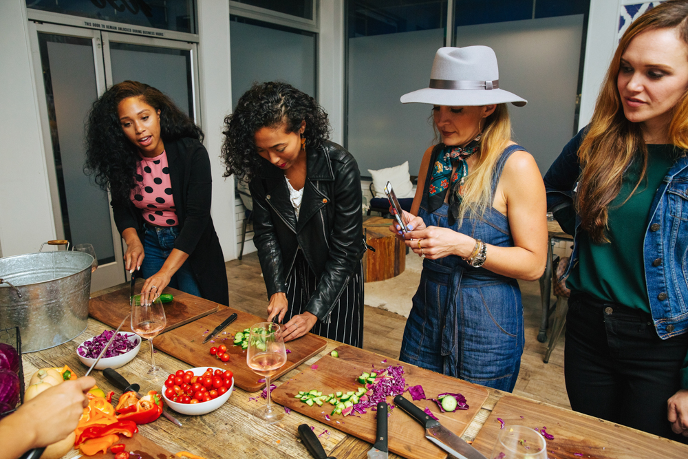 Bloggers Brandless dinner in SF 2 - September 2018 - by A Lady Goes West