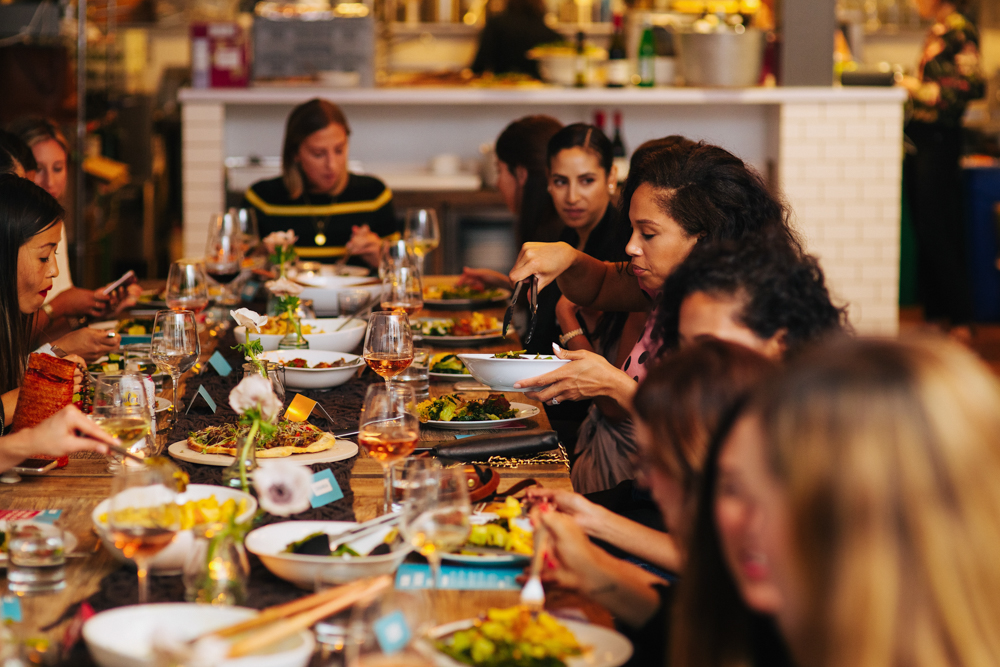 Bloggers Brandless dinner in SF 3 - September 2018 - by A Lady Goes West