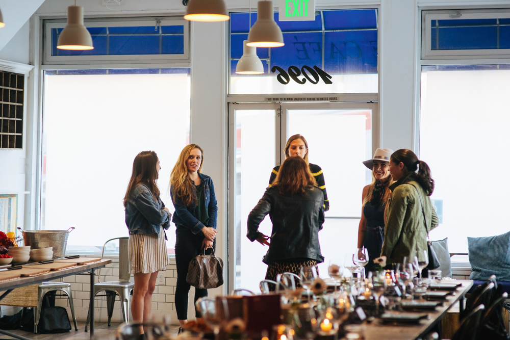 Bloggers Brandless dinner in SF - September 2018 - by A Lady Goes West