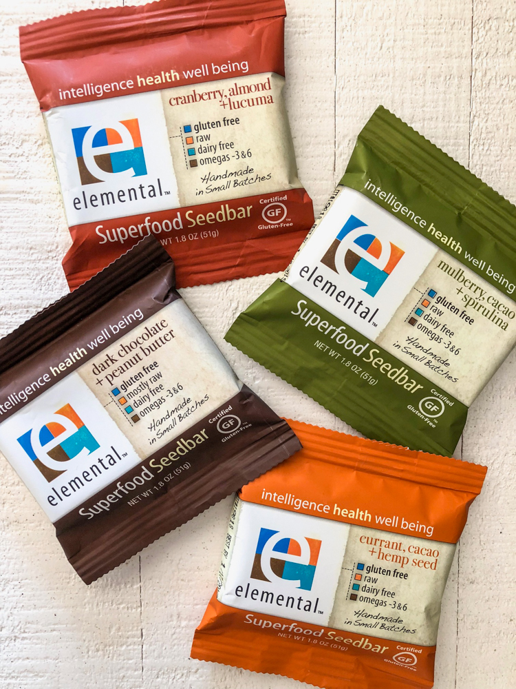 Elemental Superfood bars - by A Lady Goes West