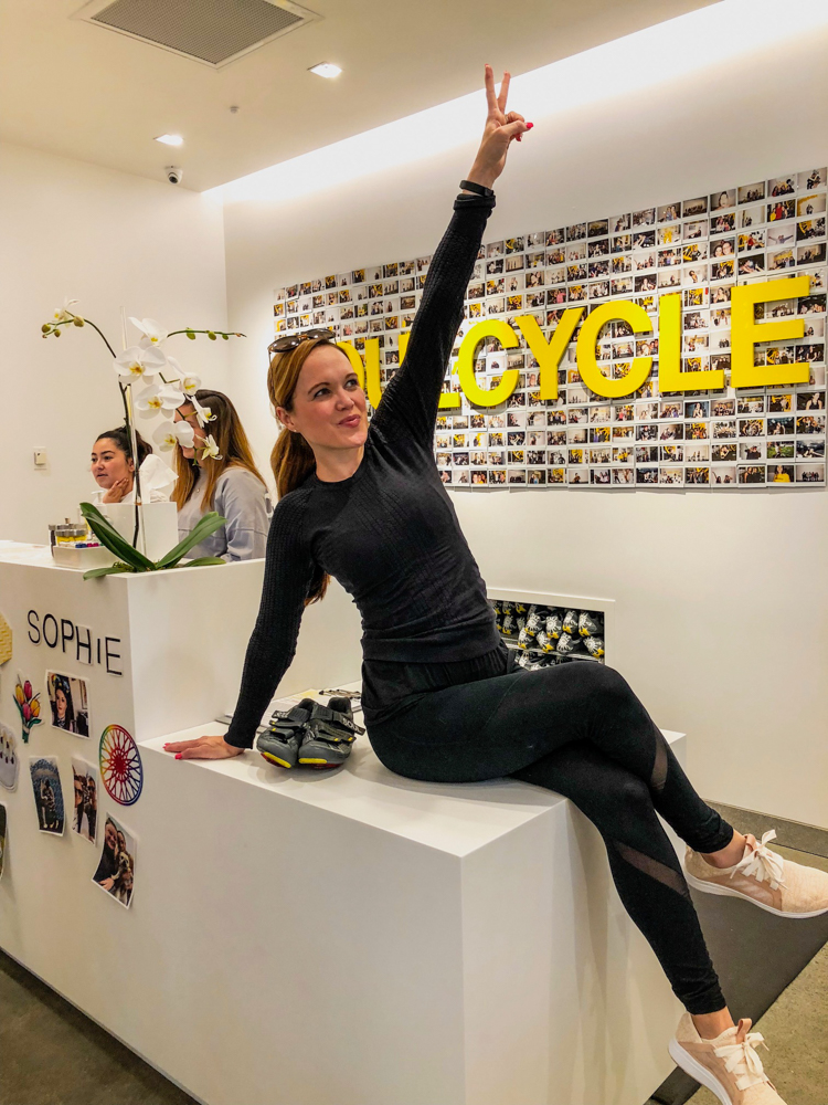 FlyWheel vs. SoulCycle class review - September 2018 - by A Lady Goes West