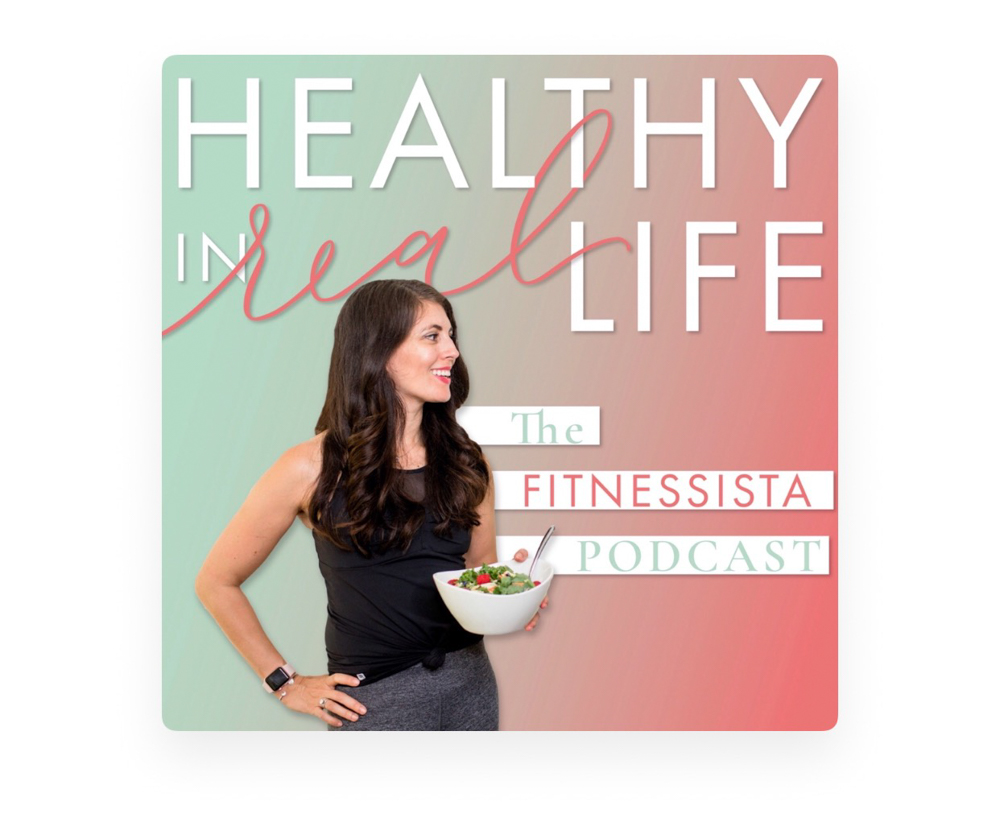 Healthy in Real Life podcast - by A Lady Goes West