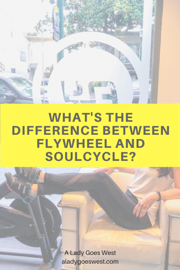 What's the difference between FlyWheel and SoulCycle by A Lady Goes West