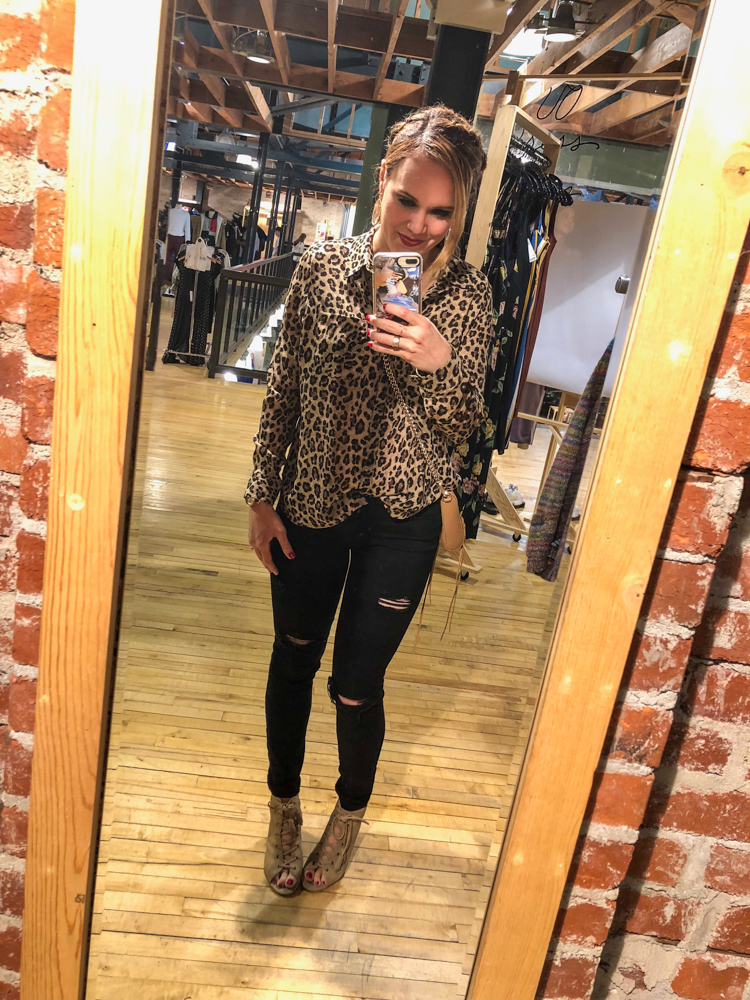 Ashley in Anthropologie by A Lady Goes West -- October 2018
