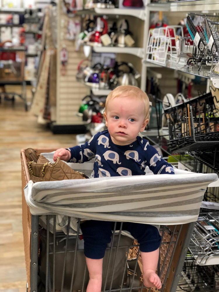 Brady shopping in September 2018 - A Lady Goes West