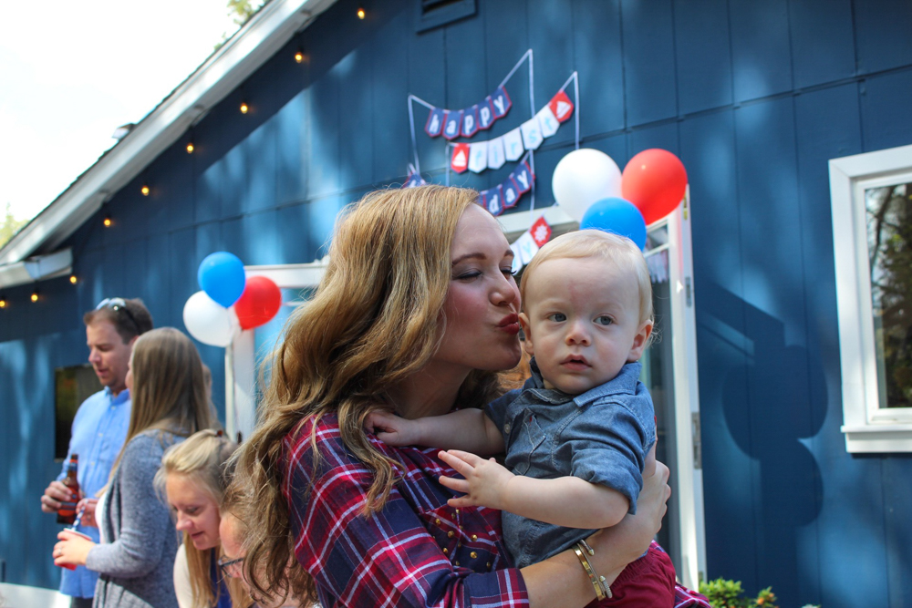 Brady's first birthday Ashley and Brady - September 2018 by A Lady Goes West