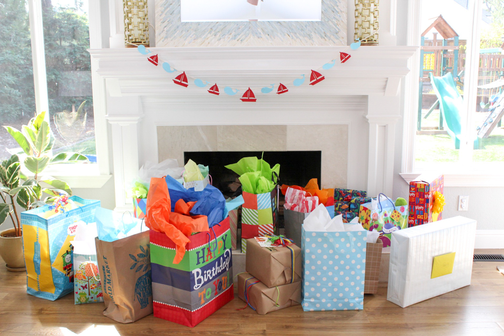 Brady's first birthday - gifts - September 2018 by A Lady Goes West