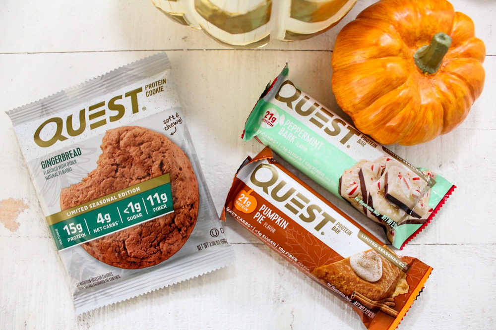 Seasonal Quest bars by A Lady Goes West -- October 2018
