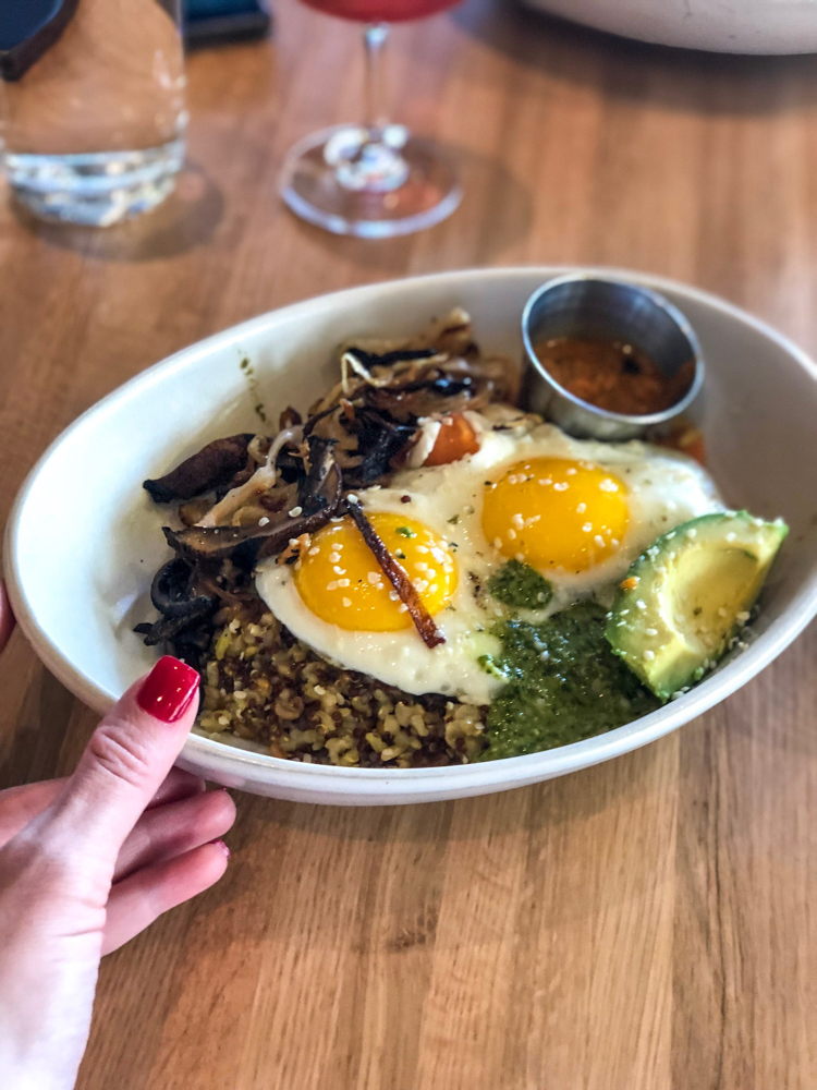 True Food Kitchen sunrise bowl by A Lady Goes West -- October 2018