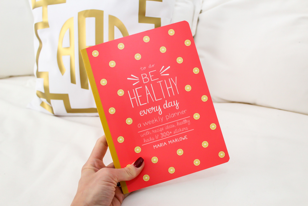 Be Healthy planner by Lady Goes West -- November 2018
