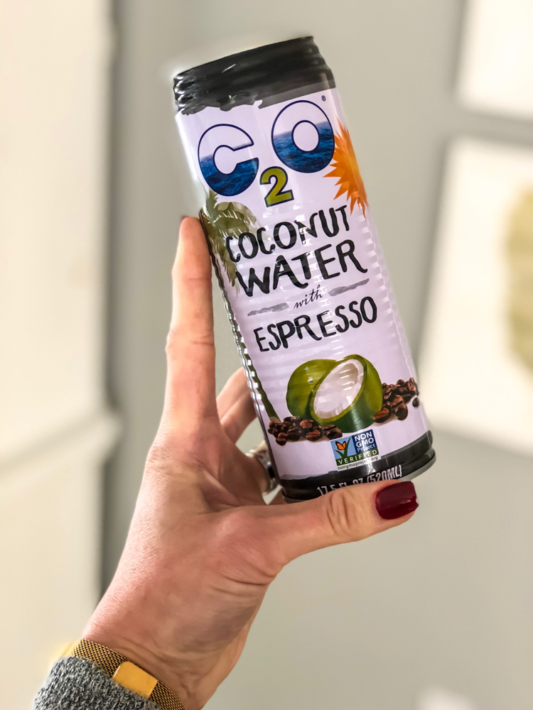 Coconut water espresso by A Lady Goes West -- November 2018