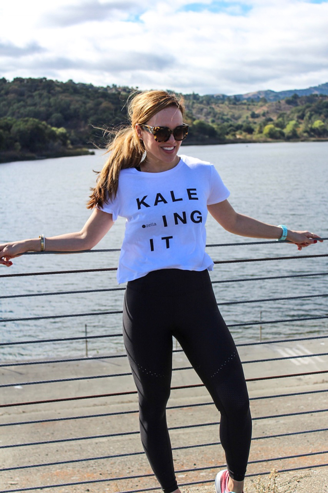 Kale shirt by A Lady Goes West -- November 2018