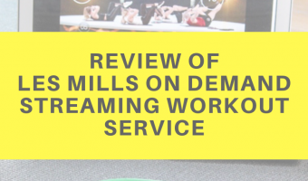 Review of Les Mills On Demand streaming workout service by A Lady Goes West