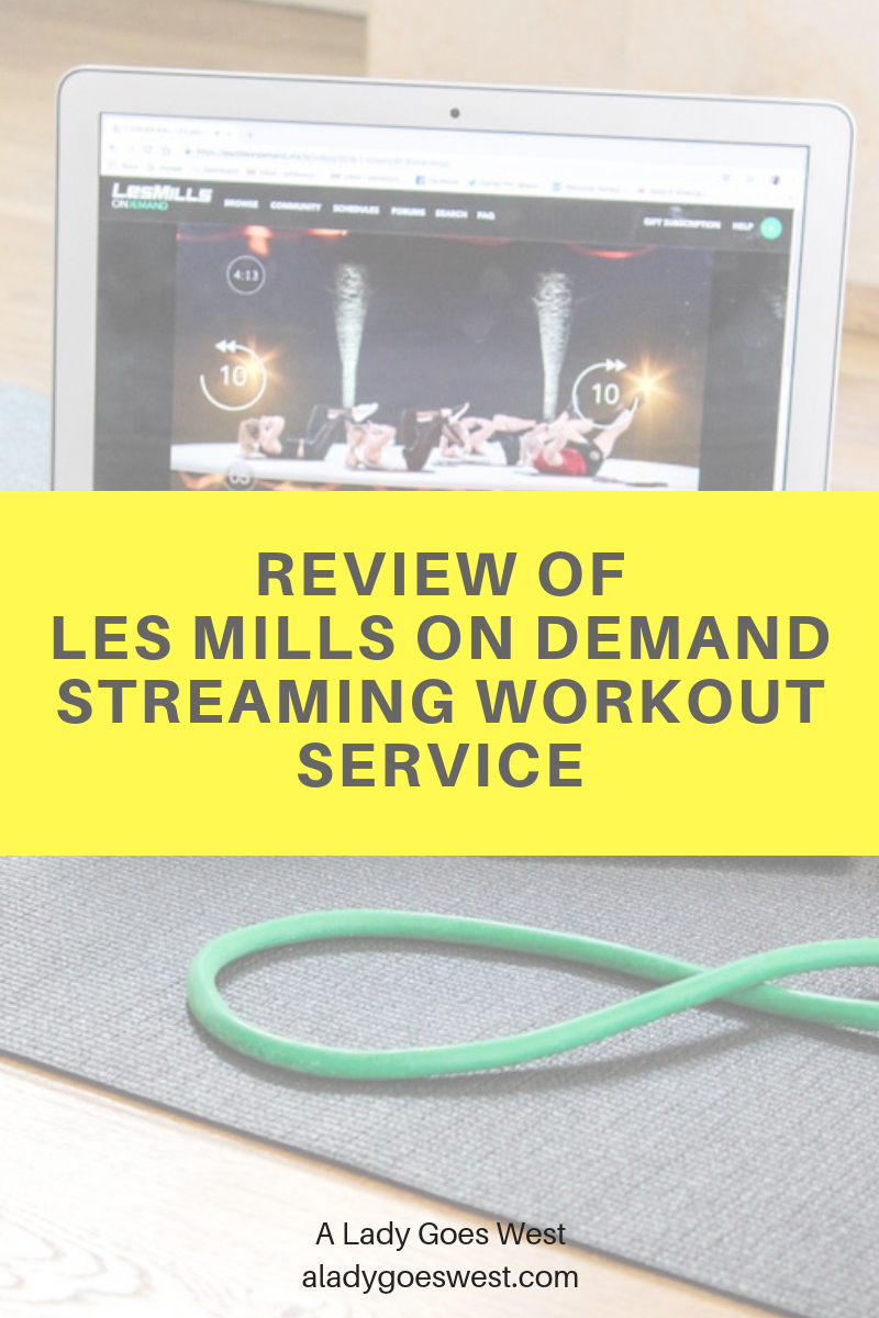 Review of Les Mills On Demand streaming workout service | A