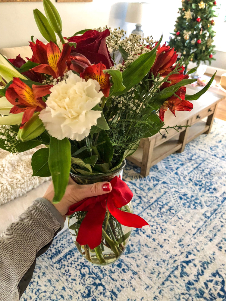 Pretty flowers by A Lady Goes West -- December 2018