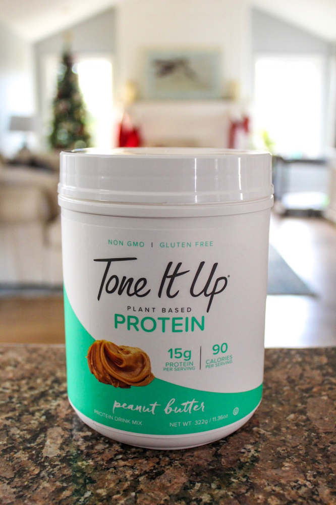 Tone It Up protein powder by A Lady Goes West -- December 2018
