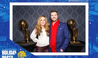 Warriors holiday party by A Lady Goes West -- December 2018