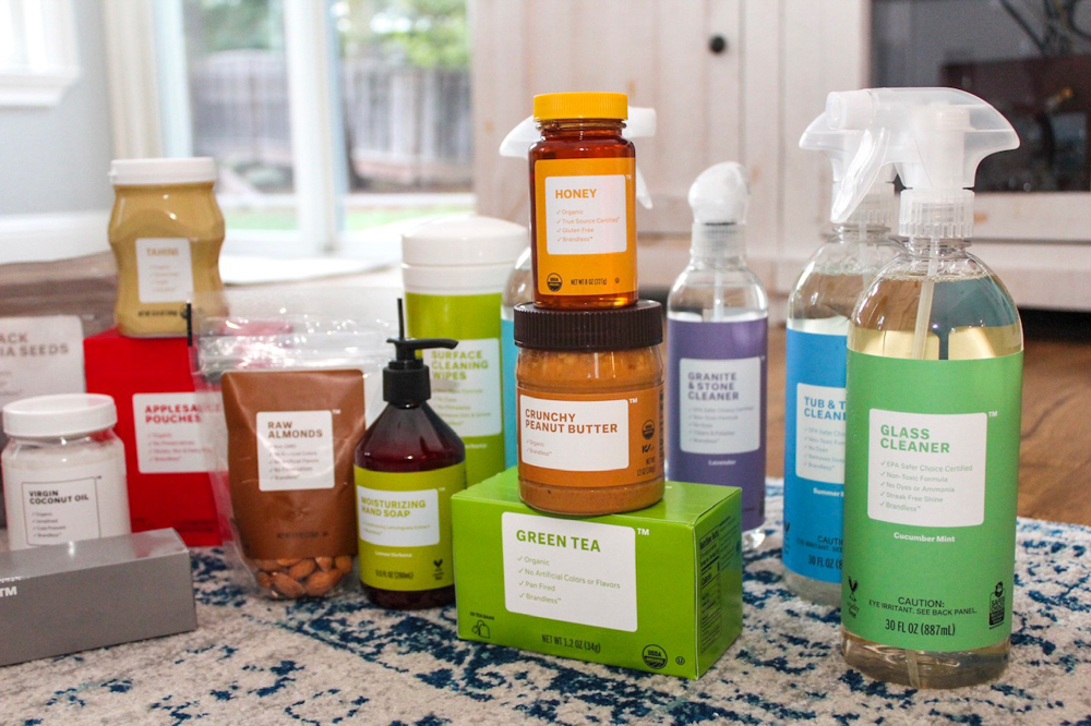 Brandless products by A Lady Goes West -- January 2019