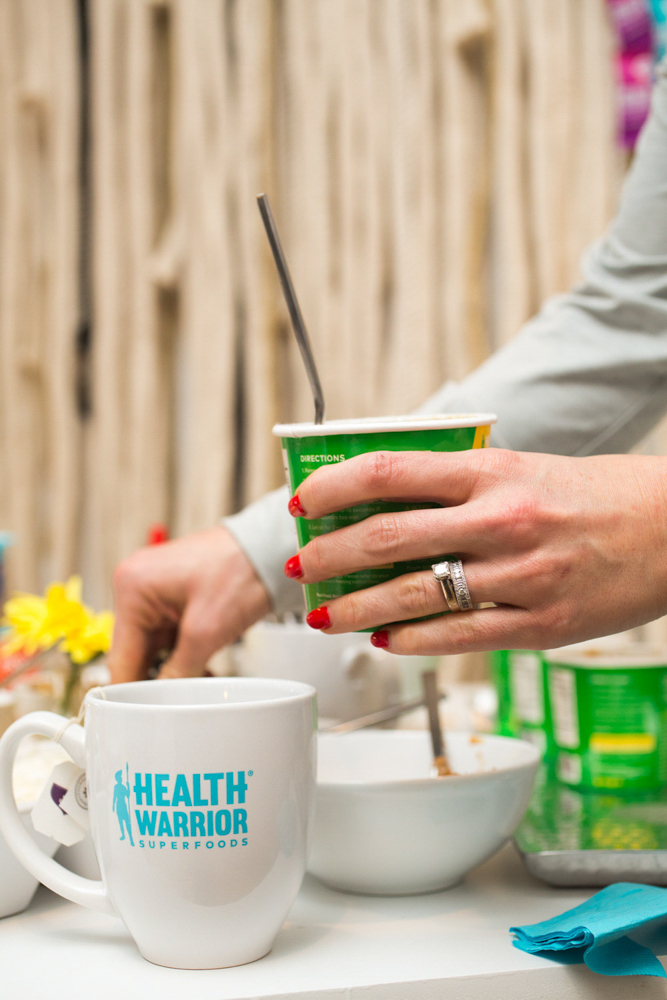 Breakfast at the Health Warrior event by A Lady Goes West -- January 2019