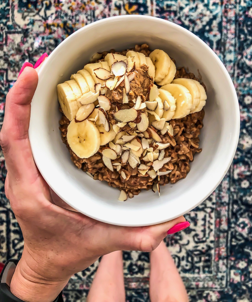 Oatmeal bowl by A Lady Goes West -- January 2019