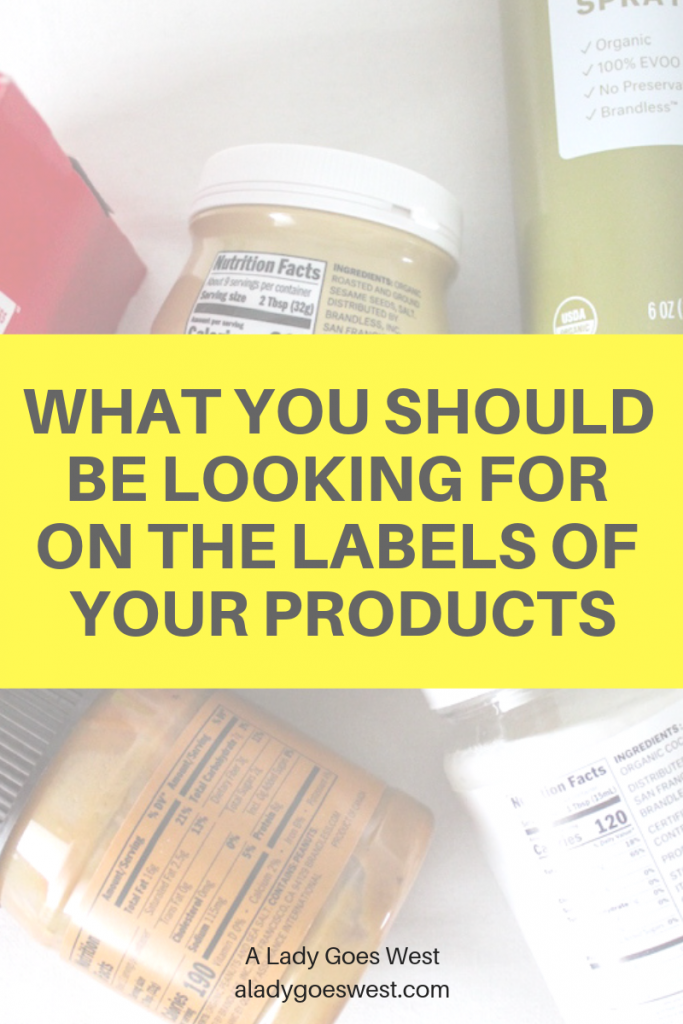 What you should be looking for on the labels of your products by A Lady Goes West