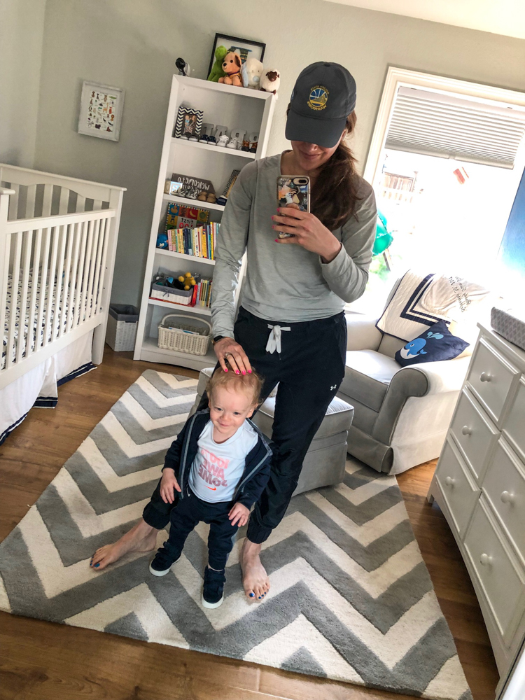 Brady and Ashley by A Lady Goes West -- Brady's 16-month update