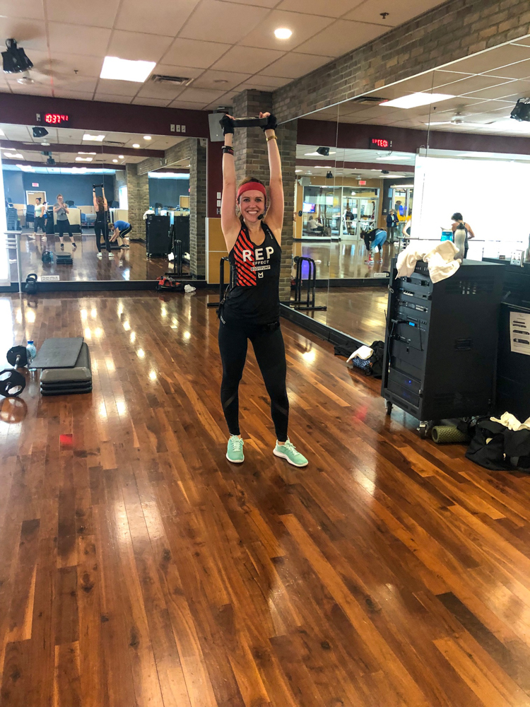 Learnings from taking time off from teaching group fitness by A Lady Goes West