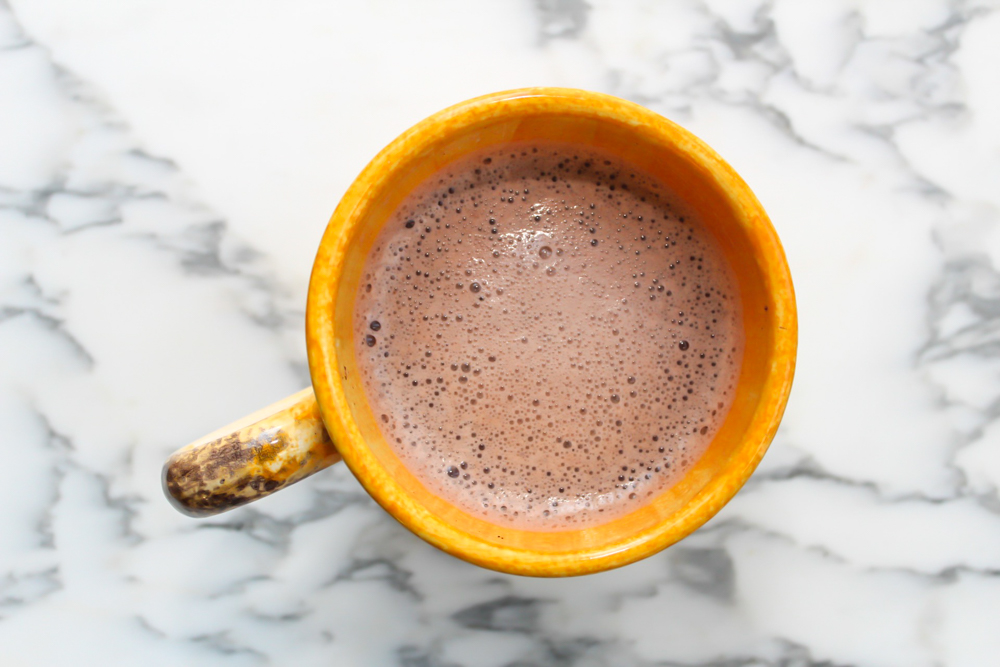 Super easy healthy hot cacao dessert drink (dairy free) by A Lady Goes West