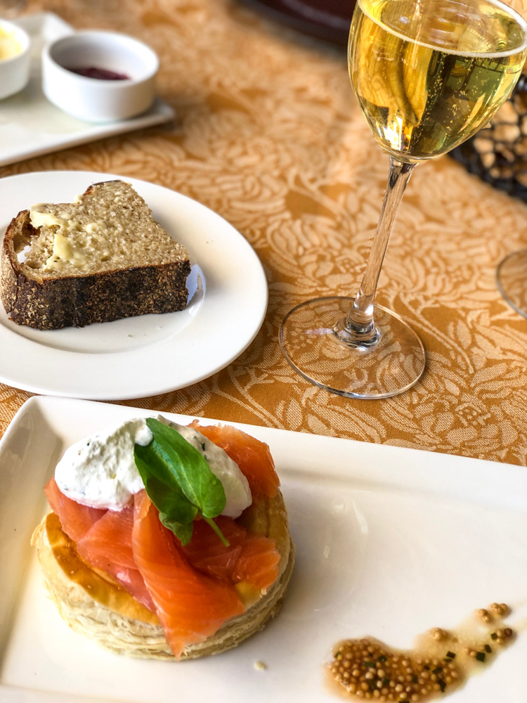 Auberge brunch by A Lady Goes West -- March 2019