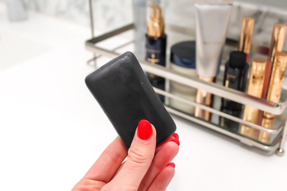 Beautycounter Charcoal Face Bar and skincare routine by A Lady Goes West