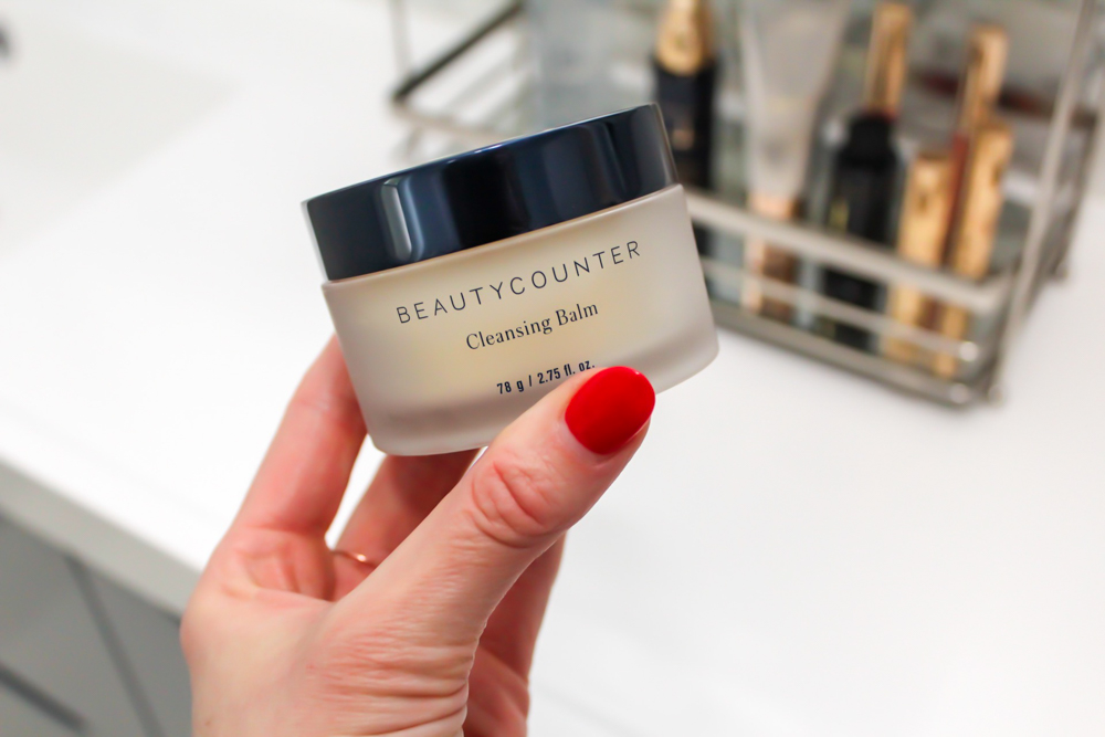 Beautycounter Cleansing Balm favorite and skincare routine by A Lady Goes West
