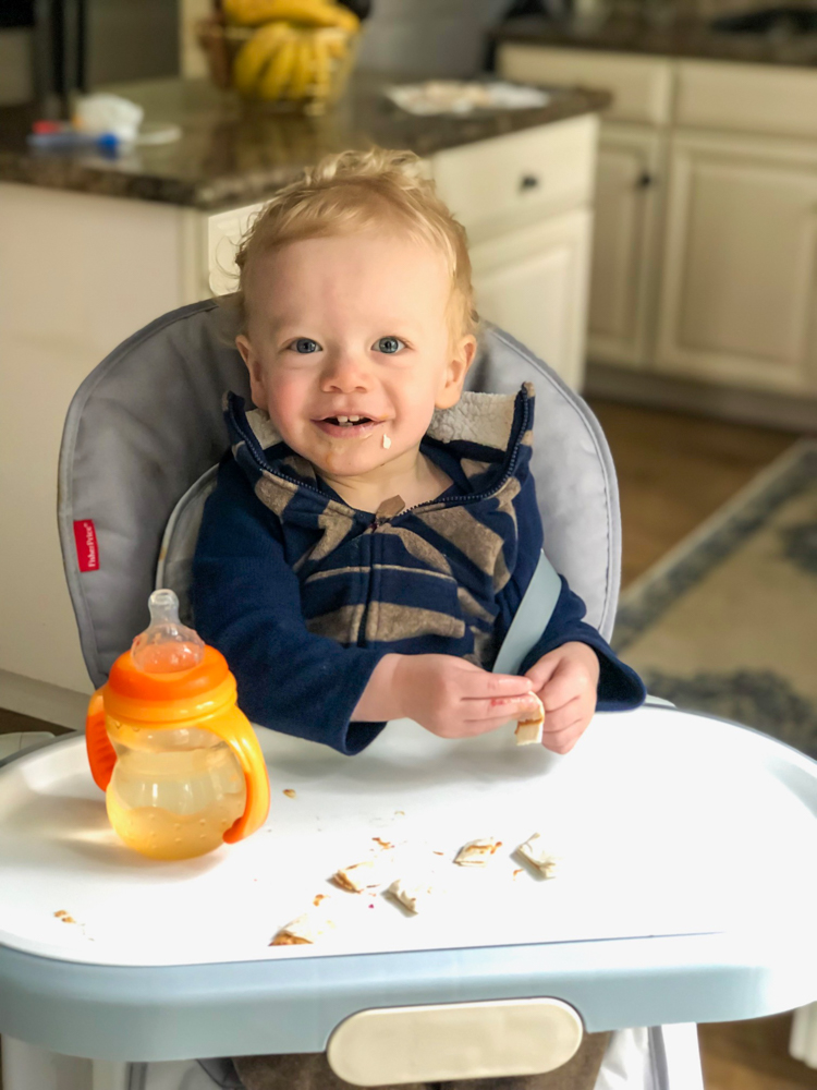 Brady eating and life lessons I'm learning from my toddler by A Lady Goes West -- March 2019