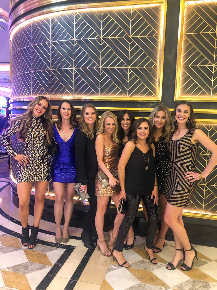 Dressed-up ladies in Vegas by A Lady Goes West -- March 2019