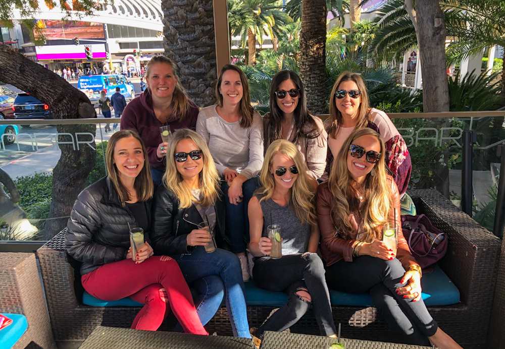 Ladies at Rhumbar in Vegas by A Lady Goes West -- March 2019