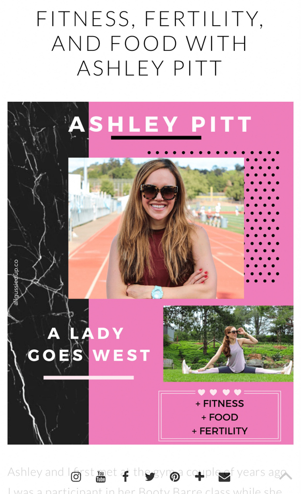 All Gussied Up podcast by A Lady Goes West --- April 2019