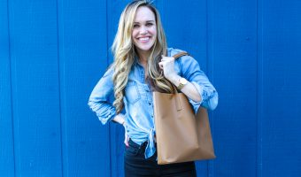 Everlane bag by A Lady Goes West --- April 2019