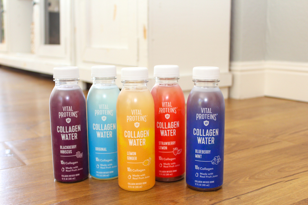 Vital Proteins collagen water giveaway by A Lady Goes West