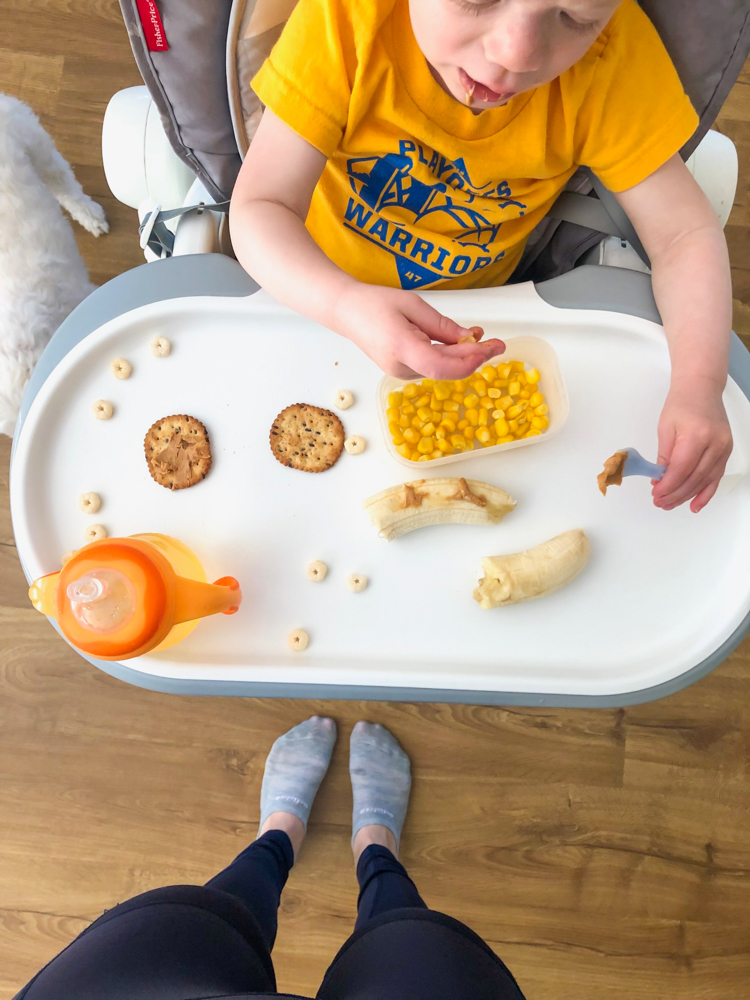 Brady snacking - 19 months by A Lady Goes West - May 2019